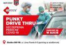 Szczepienia przeciw COVID-19 w nowym Punkcie Drive Thru w Siedlcach przy ul. Jana Pawła II 6