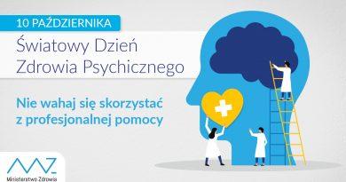 10 października 2021- Światowy Dzień Zdrowia Psychicznego